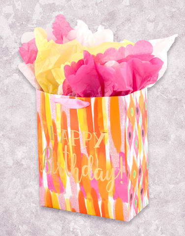 Painterly Brushstrokes (Garden) Gift Bags
