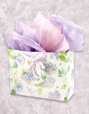 Hydrangea & Morning Glories (Market) Gift Bags