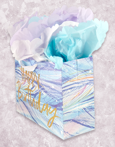 Waves of Feathers (Market) Gift Bags