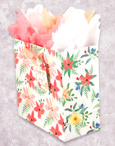 Daisies and Ferns (Medium Square) Gift Bags