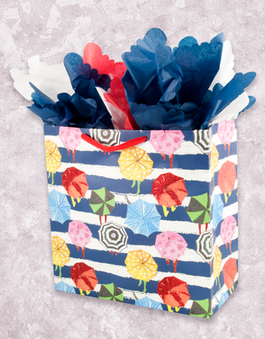 Umbrella Parade (Square Jumbo) Gift Bags
