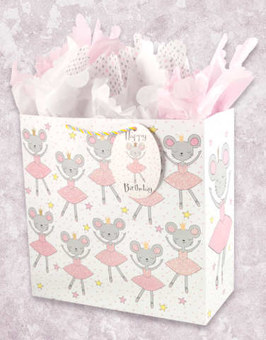 The Best Ballerinas (Square Jumbo) Gift Bags