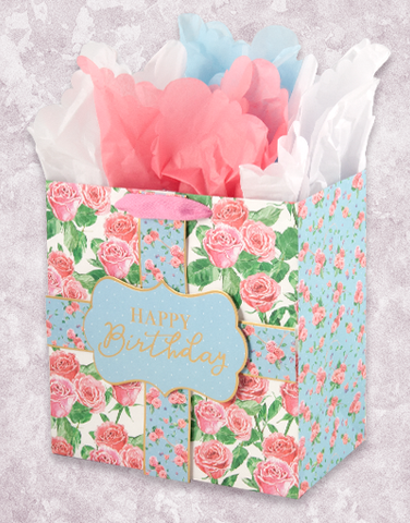 Rose Renaissance (Medium Square) Gift Bags