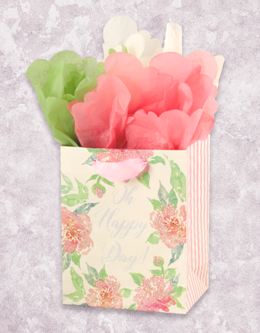 Simple Floral Wishes (Petite) Gift Bags