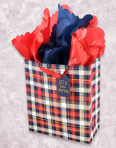 Lovely Plaid (Garden) Gift Bags