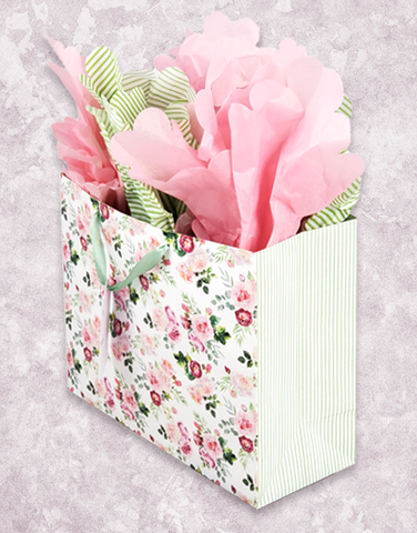 Pink Roses (Market) Gift Bags