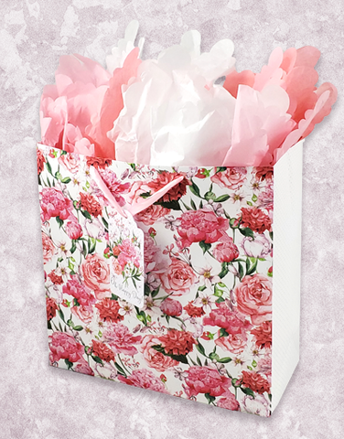Bed of Flowers (Square Jumbo) Gift Bags