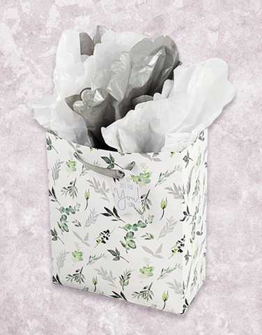 Watercolor Greenery (Studio) Gift Bags