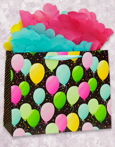Balloons & Dots Gift Bags