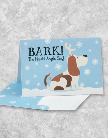 Bark The Herald (16 Count Boxed Christmas Cards)
