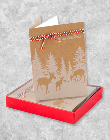 On A Winter Day (10 Count Boxed Christmas Cards)