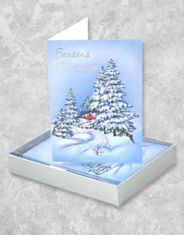 Home For The Season (16 Count Boxed Christmas Cards)
