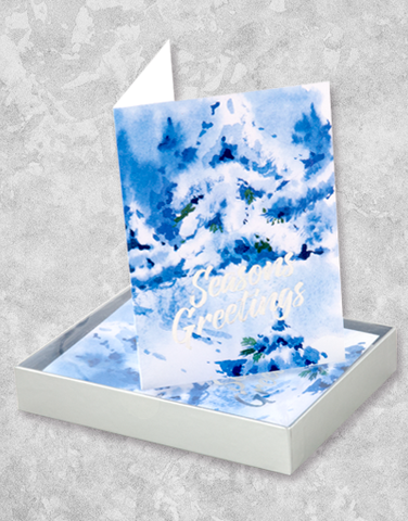 A Winter Wonderland (16 Count Boxed Christmas Cards)