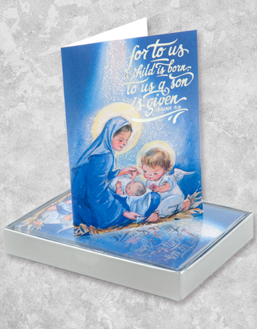 A Child Is Given (15 Count Boxed Christmas Cards)