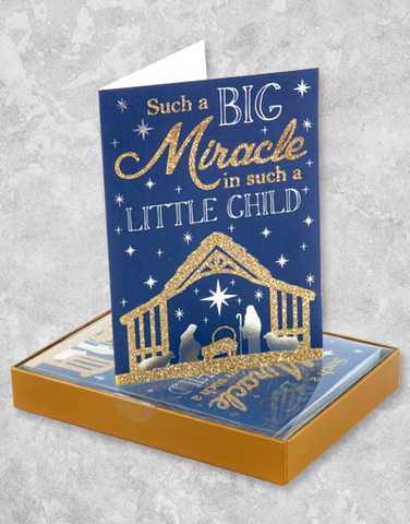 Little Miracle (15 Count Boxed Christmas Cards)