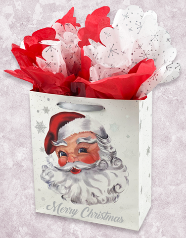 Santa and Snowflakes (Studio) Gift Bags