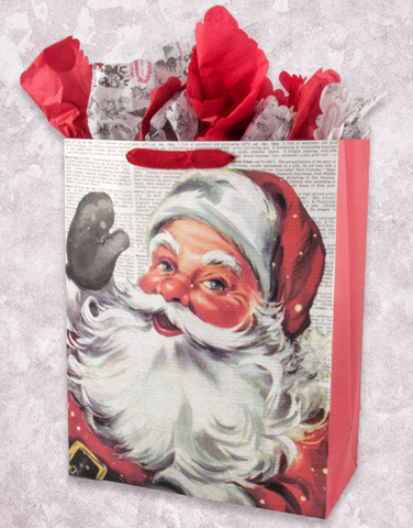 Dictionary Santa (Studio) Gift Bags