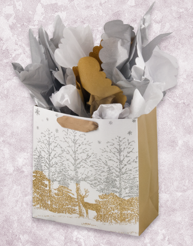Shimmering Forest (Medium Square) Gift Bags
