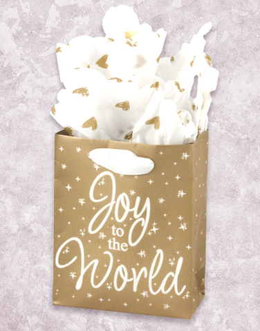 Joy To The World (Petite) Gift Bags