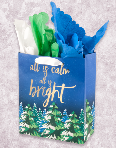 All Is Calm Forest (Garden) Gift Bags