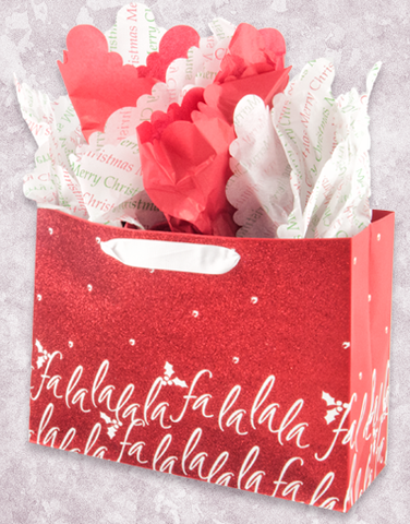 FaLaLa Twinkle Red (Market) Gift Bags