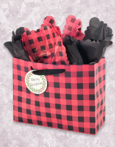 Buffalo Plaid Christmas (Market) Gift Bags