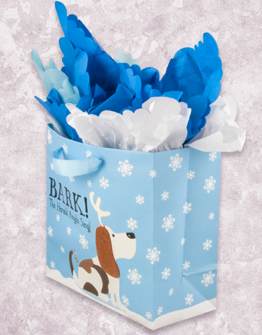 Bark The Herald (Medium Square) Gift Bags