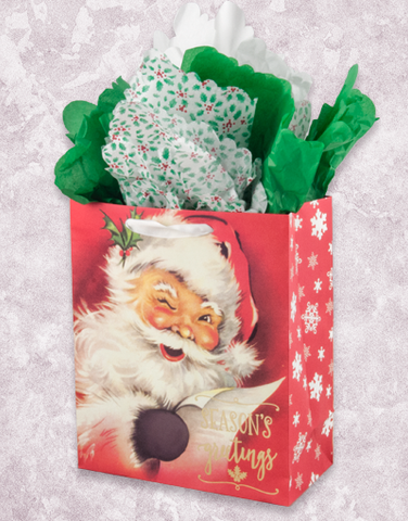 Greetings From Santa (Garden) Gift Bags