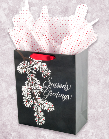 Snow Covered Branch (Garden) Gift Bags