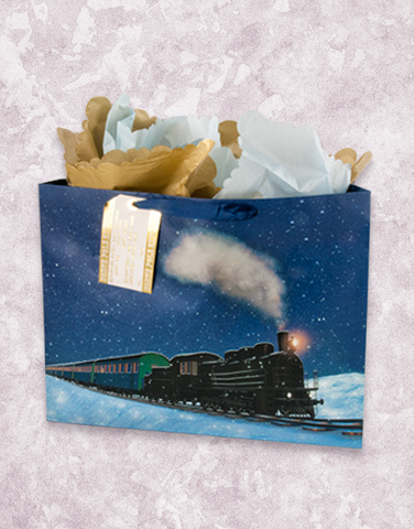 North Pole Express (Market) Gift Bags