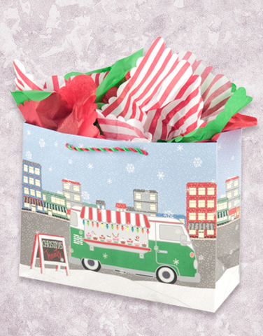 Christmas Treat Truck (Market) Gift Bags