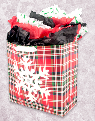 Northern Holiday (Square Jumbo) Gift Bags