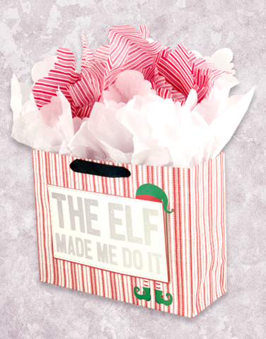 The Elf Made Me (Studio) Gift Bags