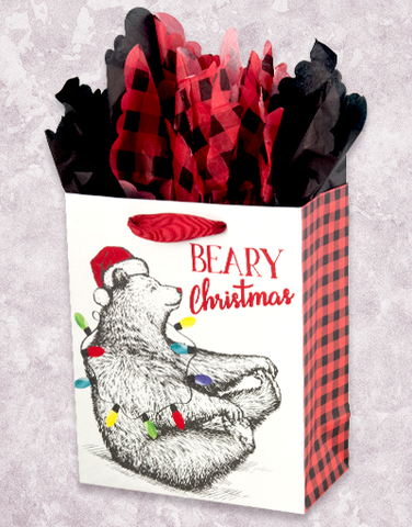 Holiday Bear (Studio) Gift Bags