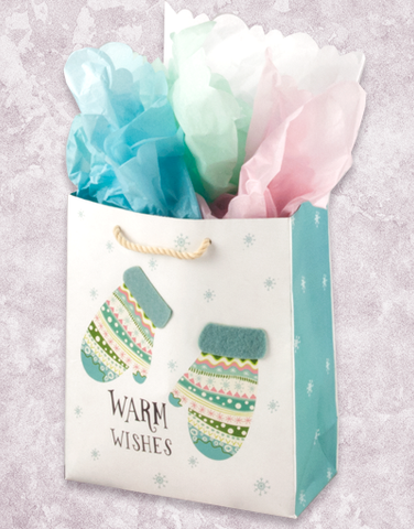 Merry Mittens (Petite) Gift Bags