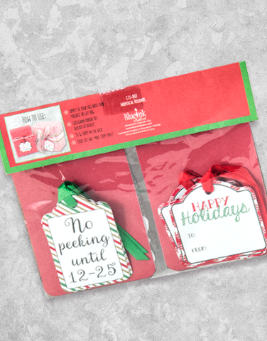 Whimsical Holiday (12 Count Holiday Gift Tags)