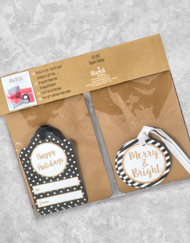 Simple Holiday (12 Count Holiday Gift Tags)