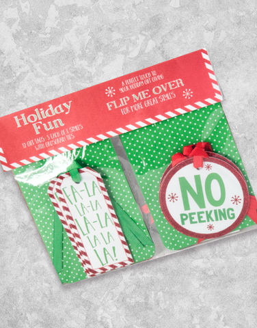 Holiday Fun (12 Count Holiday Gift Tags)