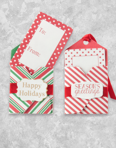 Candy Cane (6 Count Holiday Gift Tags)