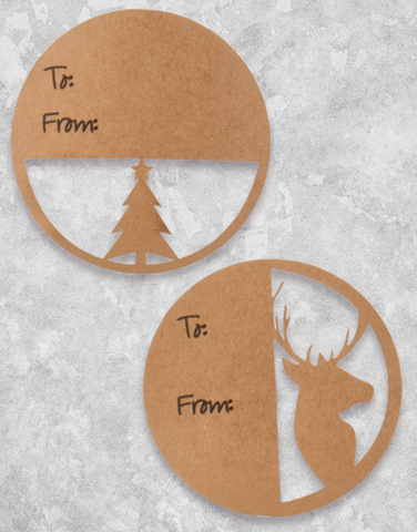 Winter Forest (10 Count Holiday Gift Tags)