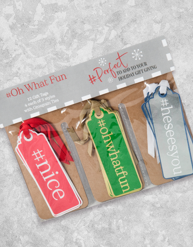 #Oh What Fun (12 Count Holiday Gift Tags)