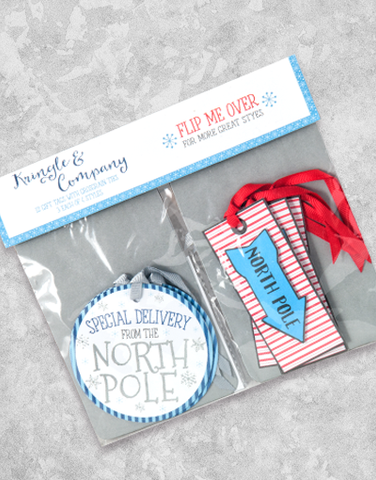Kringle & Company (12 Count Holiday Gift Tags)
