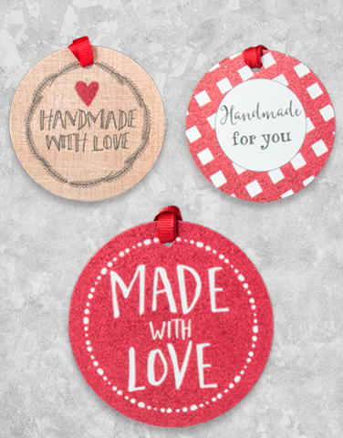 Handmade Holiday (12 Count Holiday Gift Tags)