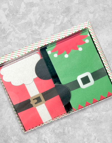 Santa & Elf Suits (6 Count Holiday Gift Card Holders)