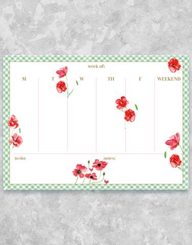 Poppy Time Desk Organizers