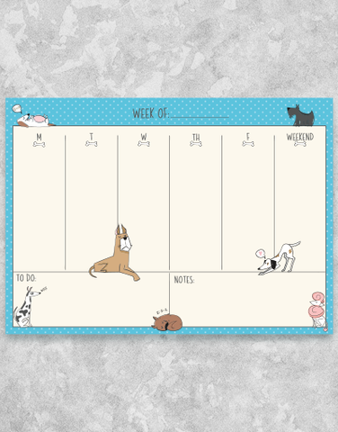 Doggie Notes Desk Organizers