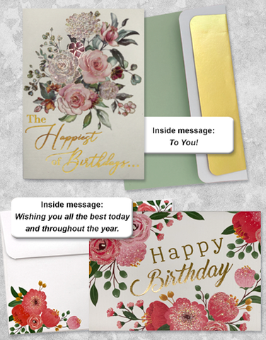 Happy Birthday Greeting Card Collection