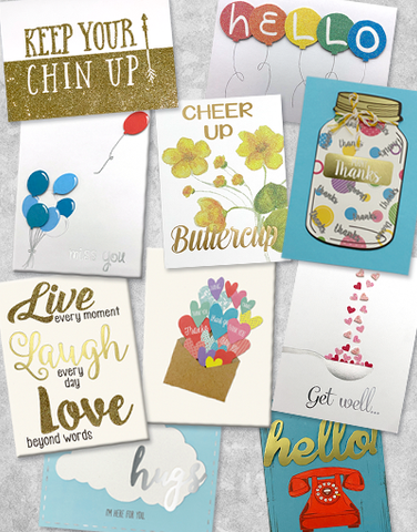 Friendship Greeting Card Collection
