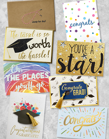 Congratulations Graduate Greeting Card Collection