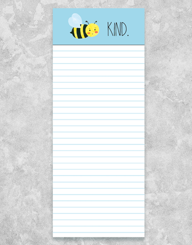 Bee Kind Chunky List Pad
